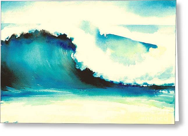 Makena Maui Greeting Card