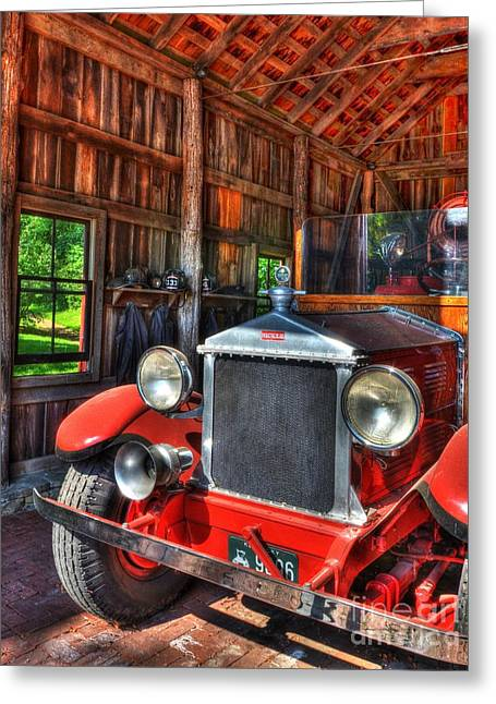 Maker's Mark Firehouse 2 Greeting Card by Mel Steinhauer
