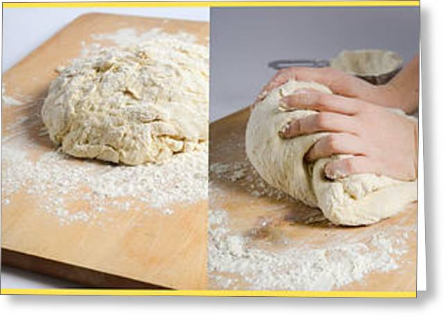 Making Bread Greeting Card by Science Source