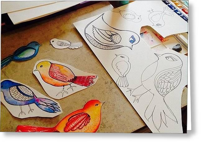 Making Some #birds...just Felt Like Greeting Card