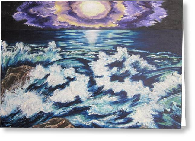 Making Waves Greeting Card by Cheryl Pettigrew