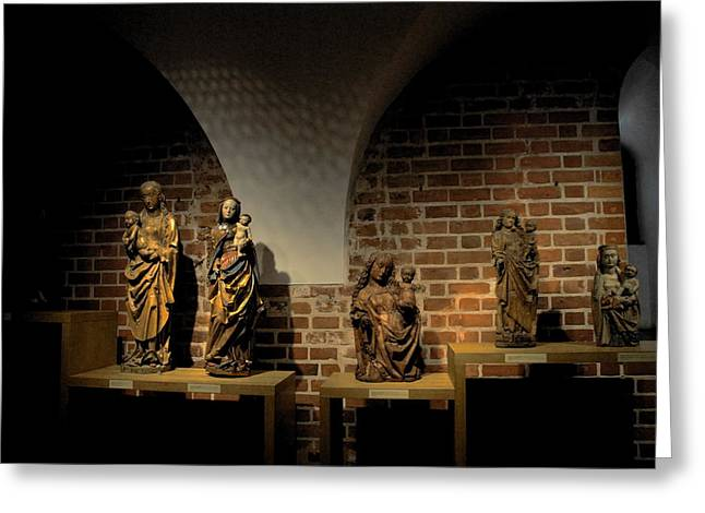 Malbork Castle Museum Greeting Card by Jacqueline M Lewis