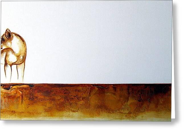Lioness - Original Artwork Greeting Card