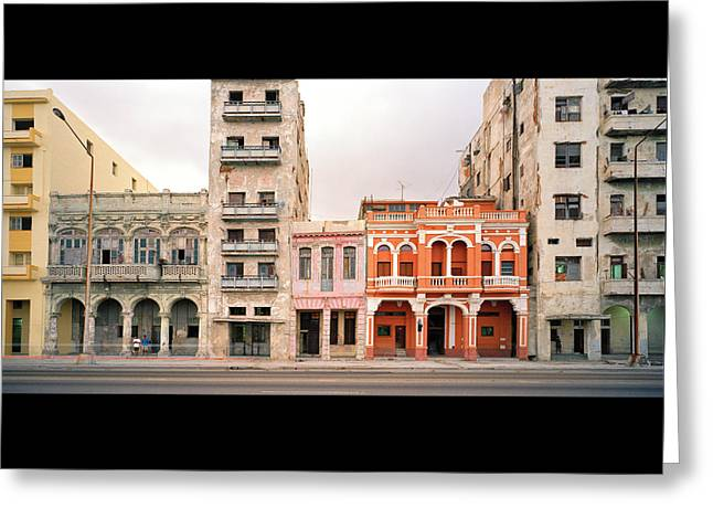 Malecon In Havana Greeting Card