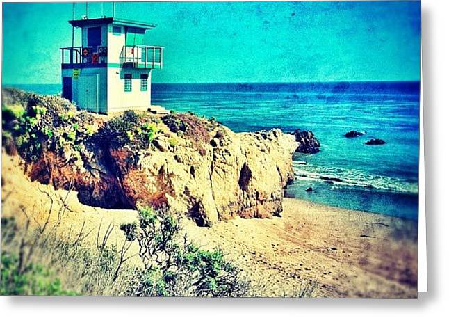 Malibu Greeting Card