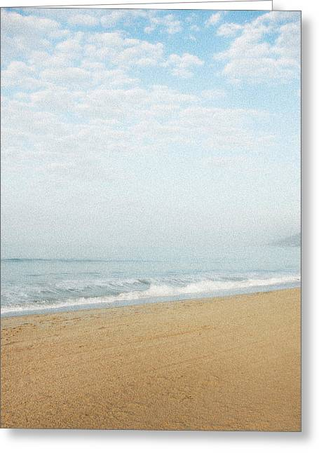 Malibu Morning Greeting Card by Ari Jacobs