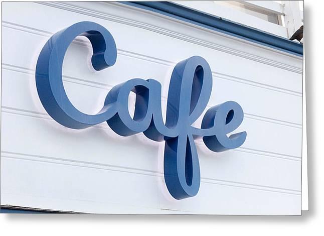 Malibu Pier Cafe Greeting Card