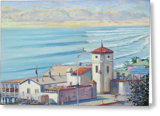 Malibu Pier Greeting Card