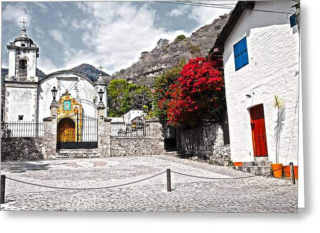 Malinalco Majic Greeting Card