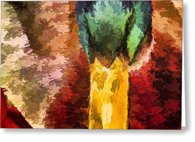 Mallard Patterns Greeting Card
