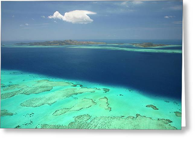 Malolo Barrier Reef, Malolo Island (left Greeting Card