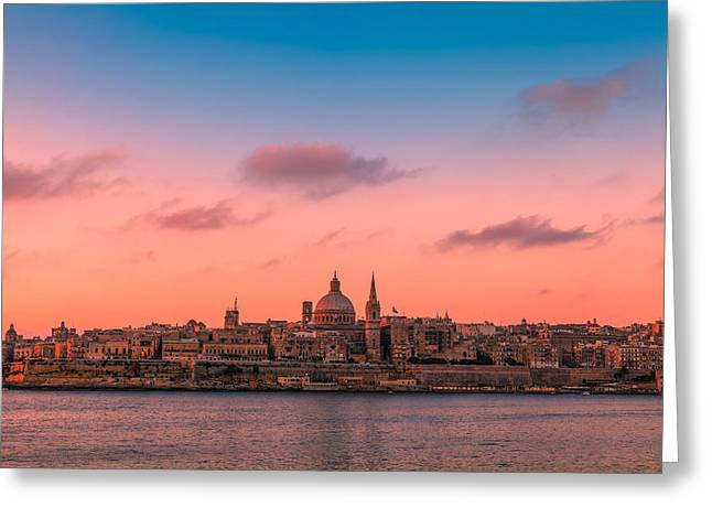 Malta 03 Greeting Card by Tom Uhlenberg