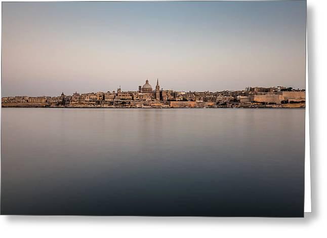 Malta 07 Greeting Card by Tom Uhlenberg