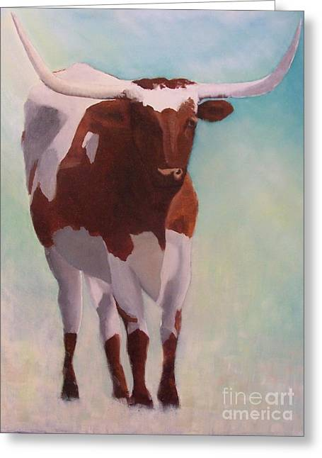 Mama Longhorn Greeting Card