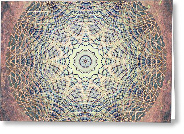 Mama Rock Me Mandala Greeting Card
