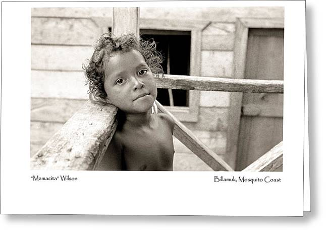 Greeting Card featuring the photograph Mamacita Wilson by Tina Manley