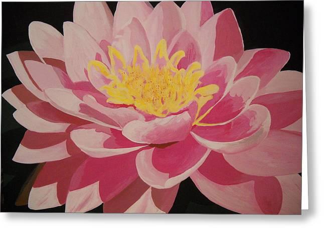 Mama's Lovely Lotus Greeting Card