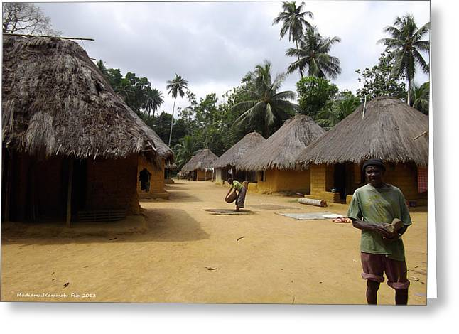 Mamboima Village Greeting Card