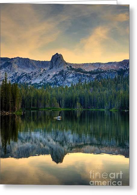 Mamie Lake Greeting Card by Kelly Wade