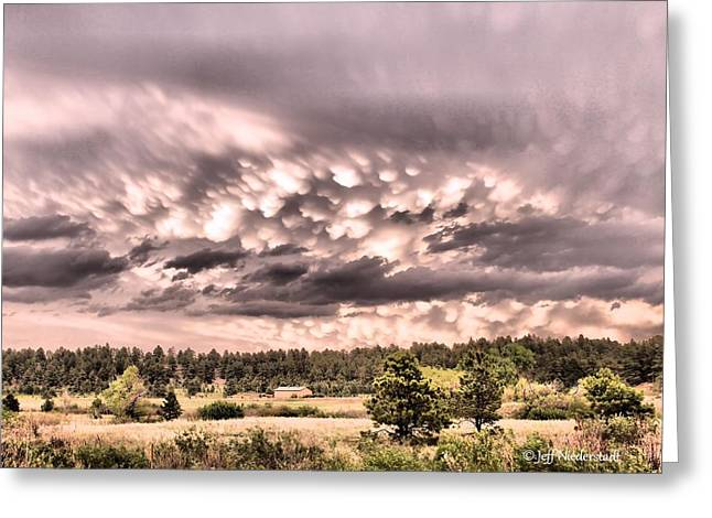 Mammatus Greeting Card