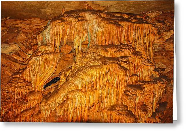 Mammoth Cave Formations Greeting Card