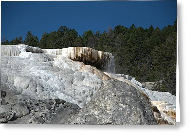 Mammoth Hot Springs 1 Greeting Card
