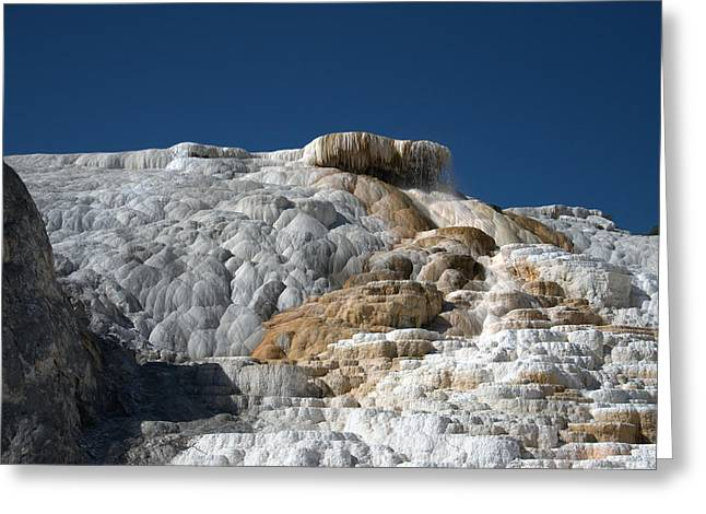 Mammoth Hot Springs 2 Greeting Card