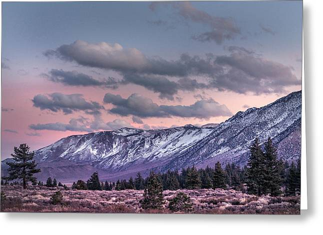 Mammoth Mountain Near Mammoth Lakes Greeting Card