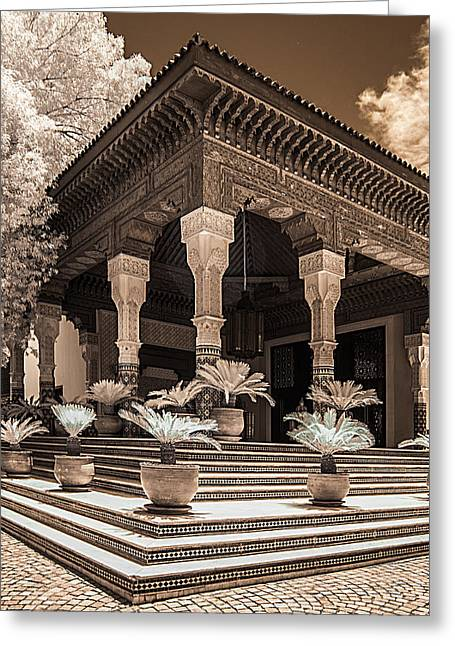 Mamounia Hotel In Marrakech Greeting Card