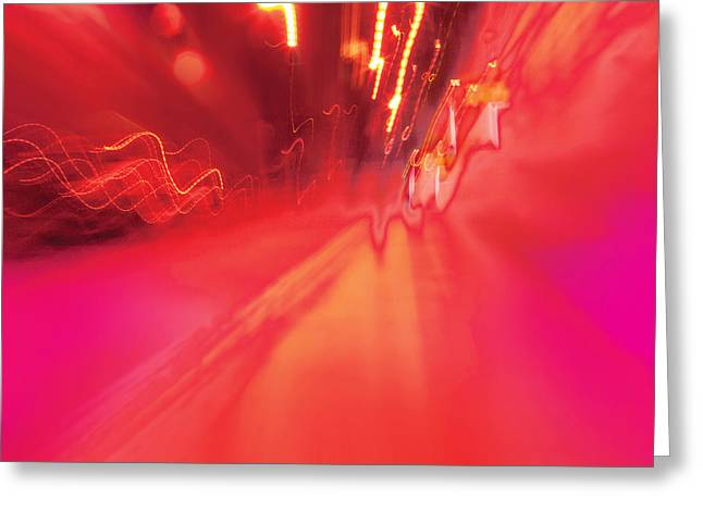 Greeting Card featuring the digital art Man Move 0131 by David Davies