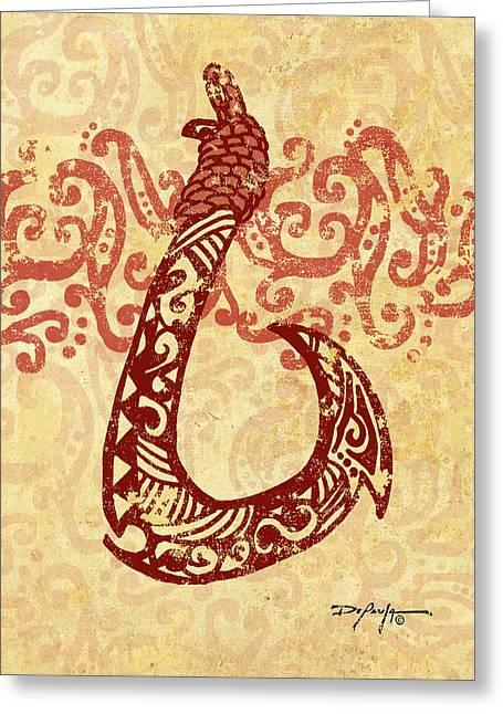 Manaiakani Hawaiian Hook Greeting Card