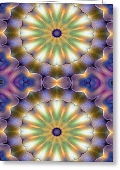 Mandala 105 For Iphone Double Greeting Card