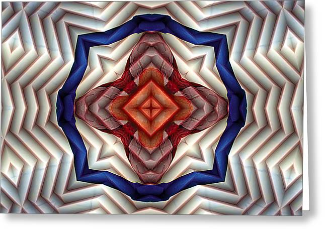 Mandala 11 Greeting Card by Terry Reynoldson