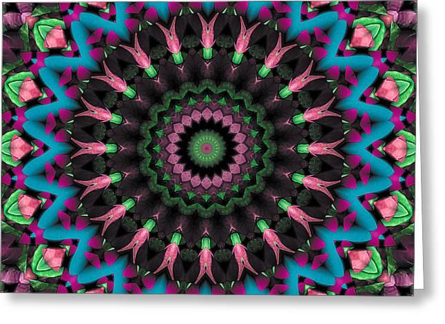 Mandala 35 Greeting Card by Terry Reynoldson