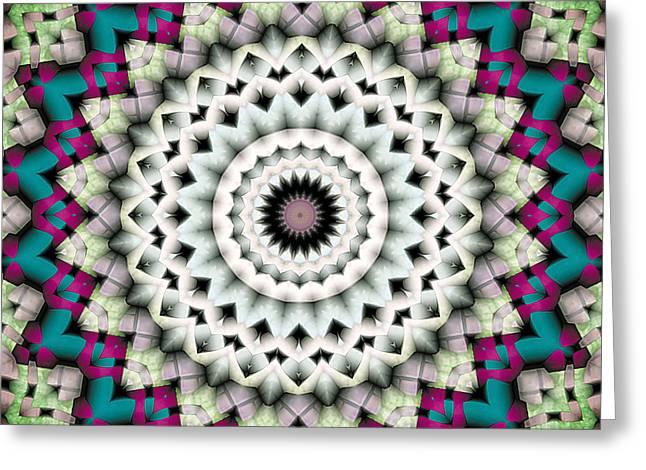 Mandala 36 Greeting Card by Terry Reynoldson