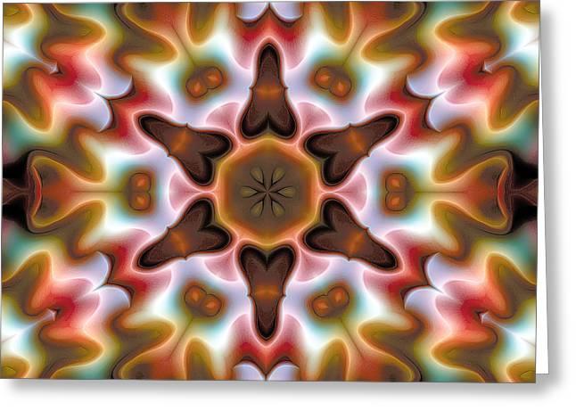 Mandala 68 Greeting Card by Terry Reynoldson