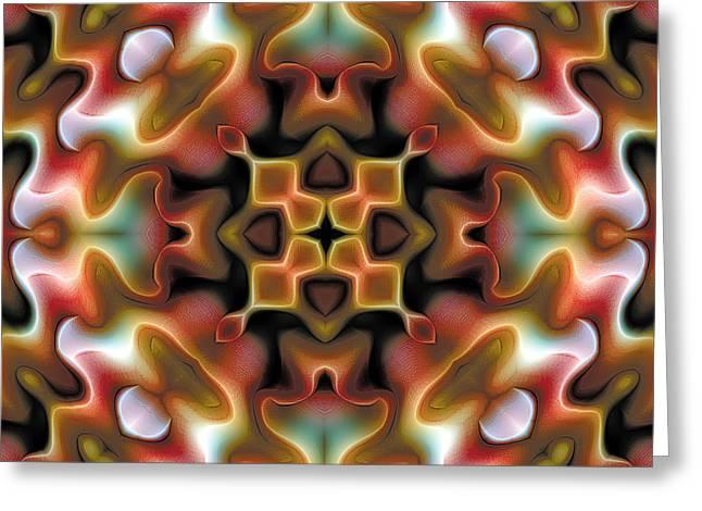 Mandala 76 Greeting Card by Terry Reynoldson