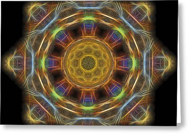 Mandala Of Light 1 Greeting Card