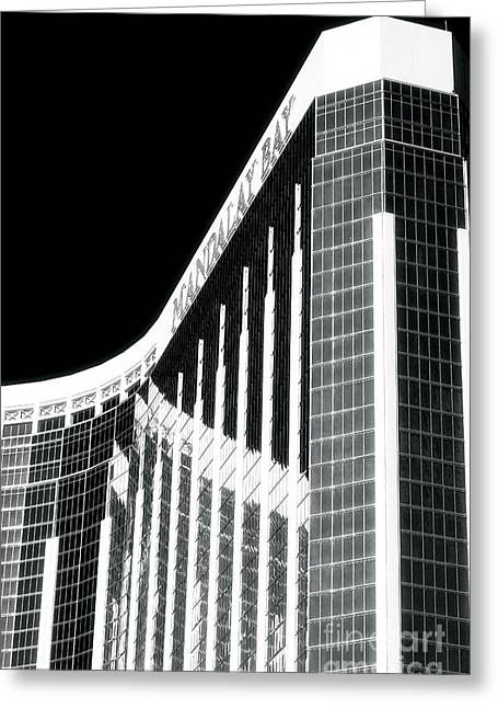 Mandalay Bay Greeting Card by John Rizzuto