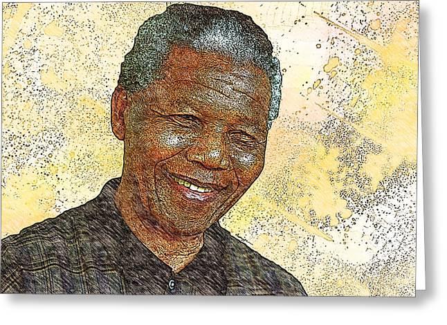 Mandela Greeting Card