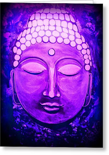 Mandi's Buddha Greeting Card