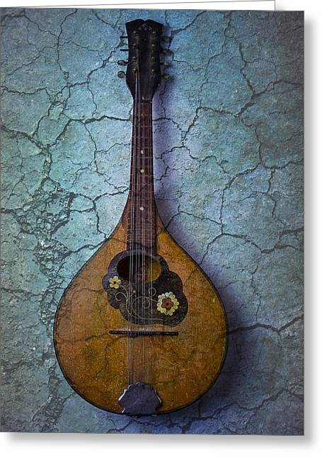 Mandolin Mystery Greeting Card by Garry Gay