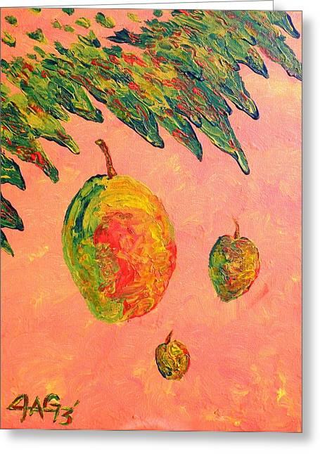 Mango Sky Greeting Card