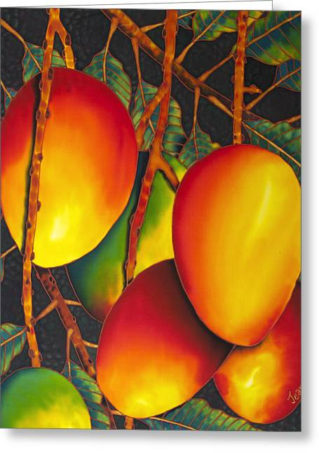 Mangos Greeting Card by Daniel Jean-Baptiste