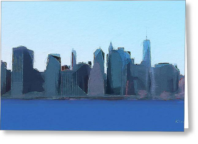 Manhattan 2014 Greeting Card