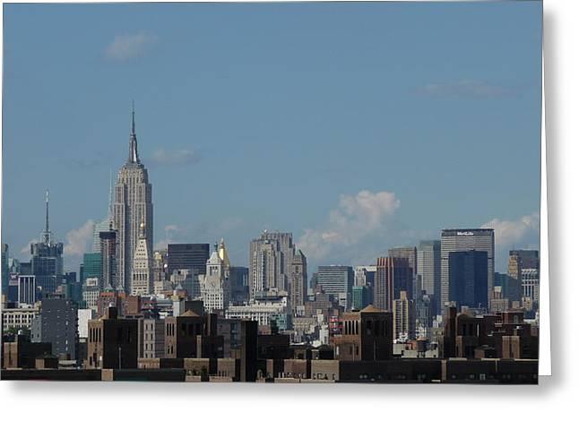 Manhattan 3 Greeting Card