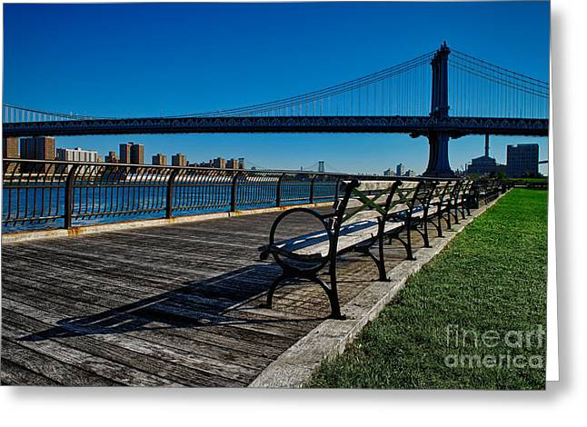 Manhattan Bridge 1 Greeting Card