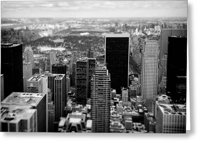 Manhattan Greeting Card by Dave Bowman