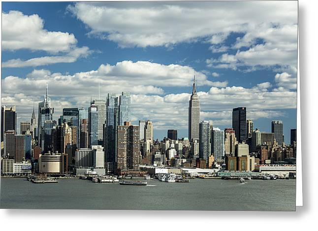 Manhattan I Greeting Card by Tony Maduro