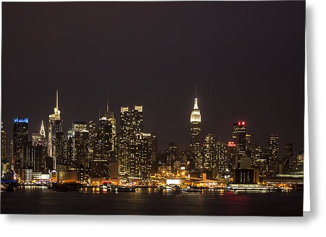 Manhattan IIi Greeting Card by Tony Maduro